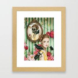 The Portrait of Dorianne Gray Framed Art Print