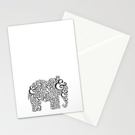 Ampersand Elephant Stationery Cards