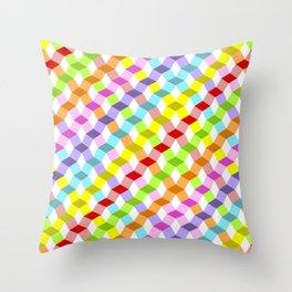 Tempus Vernum Geometrica Throw Pillow