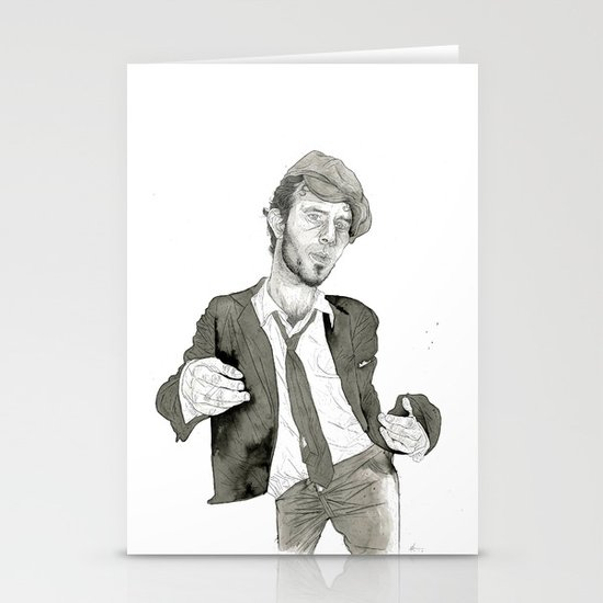 Tom Waits: The Early Years Stationery Cards