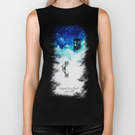Beyond the clouds | Doctor Who Biker Tank