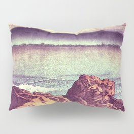 Stopping by the Shore at Uke Pillow Sham