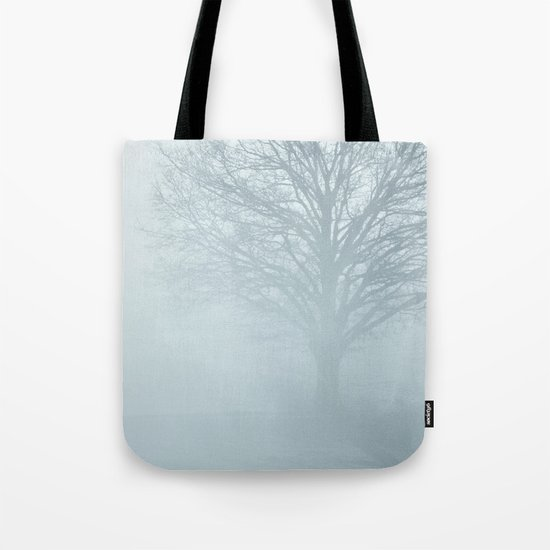 Tree / Winter Silence Tote Bag