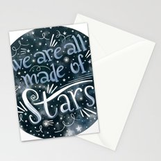We Are All Made of Stars Stationery Cards