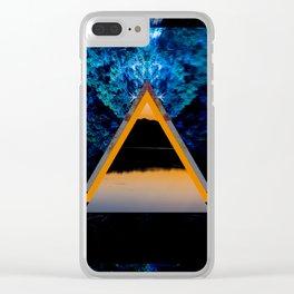 Lakeside Ritual Clear iPhone Case