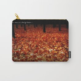 He lay her down on a bed of leaves... Carry-All Pouch