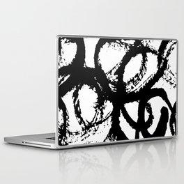 Dance Black and White Laptop & iPad Skin