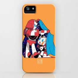 """""""Cover me into your own world"""" iPhone Case"""