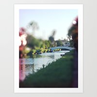 Venice Canals Pt. 1 Art Print
