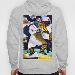 Marc Chagall The Fiddler Hoody
