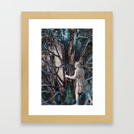 Diana in the Magic Forest Framed Art Print