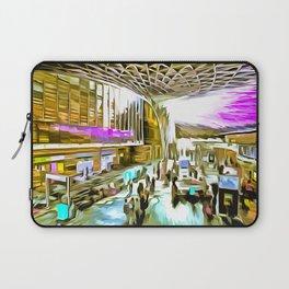Kings Cross Station London Pop Art Laptop Sleeve