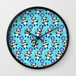 Panda Kill Chu Wall Clock
