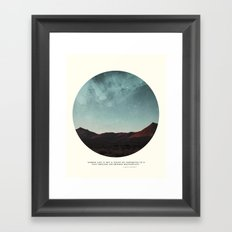 Universe remedy Framed Art Print