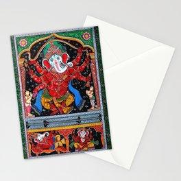 Hindu Ganesha 4 Stationery Cards
