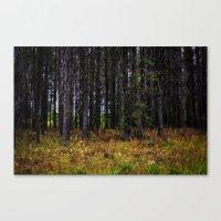 ashton irwin Canvas Prints featuring Ashton Idaho - Autumn by IMAGETAKERS