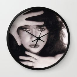 Kate Bush, 80s, Retro, Gift for her, Vintage Print Wall Clock
