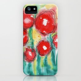 Poppy paradise iPhone Case