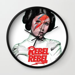 Rebel Ziggy Wall Clock