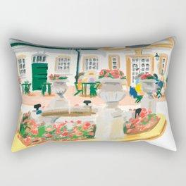 AFTERNOON TEA IN SURREY Rectangular Pillow