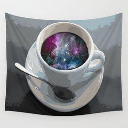 galaxy coffee Wall Tapestry