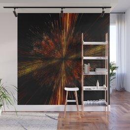 PLANET PIXEL INCEPTION Wall Mural