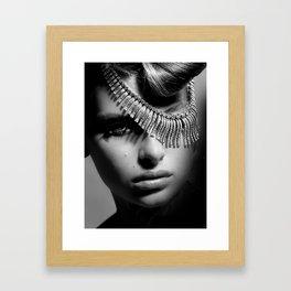 spoiled Girl Framed Art Print