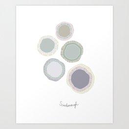 scarborough Art Print