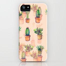 cactus ilusion iPhone Case