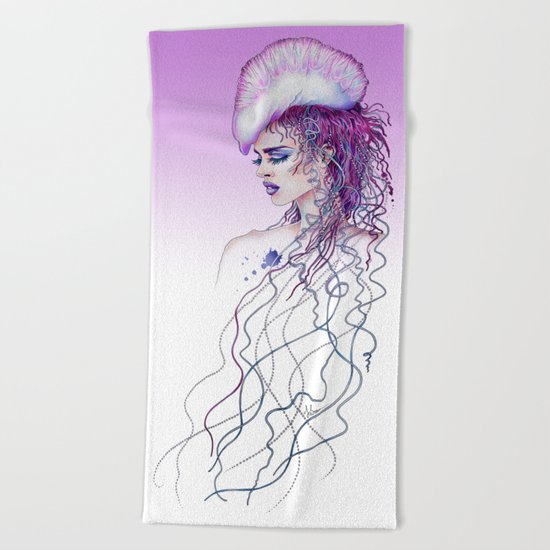 Portuguese War Woman Beach Towel