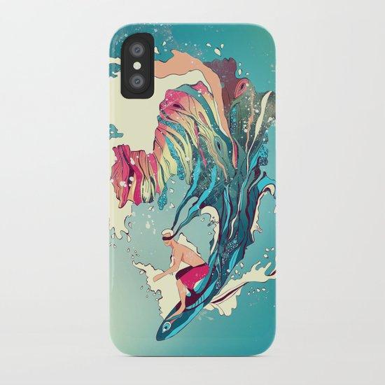 Blind Surfer iPhone Case
