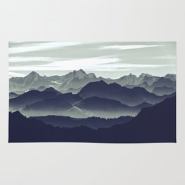 Mountains are calling for us Rug