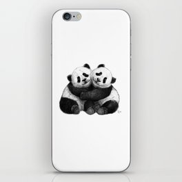 Panda's Hugs G143 iPhone Skin