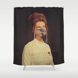 Portrait XX Shower Curtain