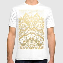 GOLD ORION JEWEL MANDALA T-shirt