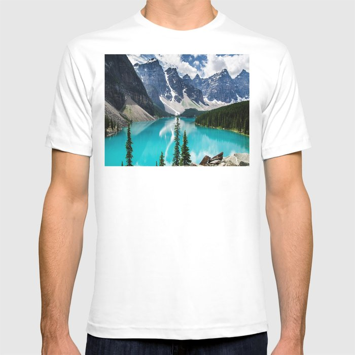 Lake Moraine Banff T-shirt