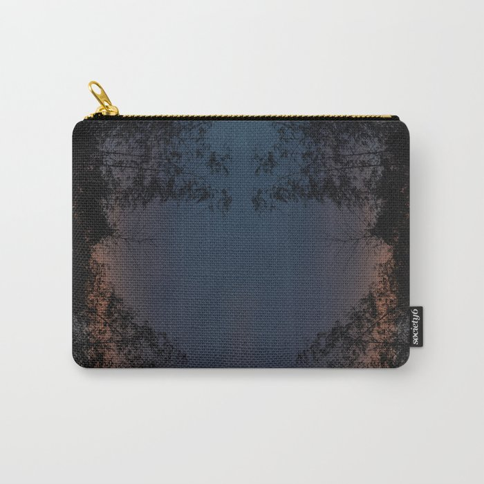 Mirrored Trees 2 Carry-All Pouch