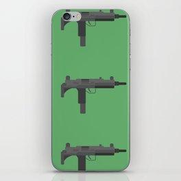 Uzi submachine gun iPhone Skin