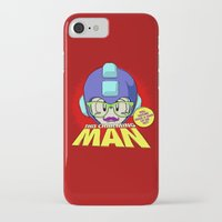 smiths iPhone & iPod Cases featuring 8-bit Smiths - This Charming Mega Man by Butcher Billy