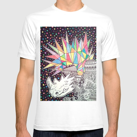 Rhino Party T-shirt