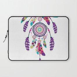 Colorful dream catcher on arrow Laptop Sleeve