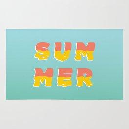 MELTING SUMMER Rug