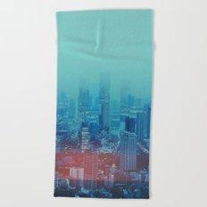 Nightcity Beach Towel