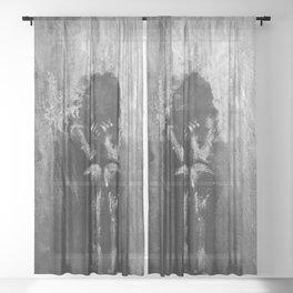 Darkness Sheer Curtain