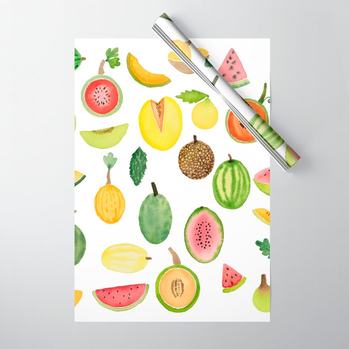 Melons Wrapping Paper