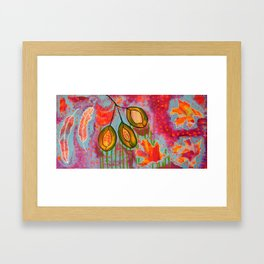 """Changing"" Original Painting by Toni Becker, Artfully Healing Framed Art Print"