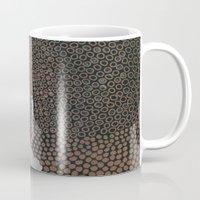 copper Mugs featuring Copper Fields by Georgiana Paraschiv