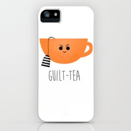 Guilt-tea iPhone Case