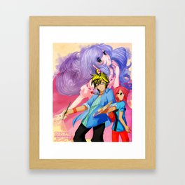 Sketch Love Framed Art Print