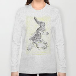 Smiling Gator Long Sleeve T-shirt